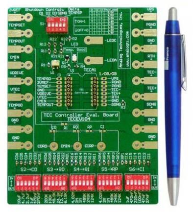 温度控制器评估板有哪些功能与应用