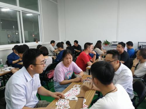 鑫瑞科技工会举行三片比赛活动